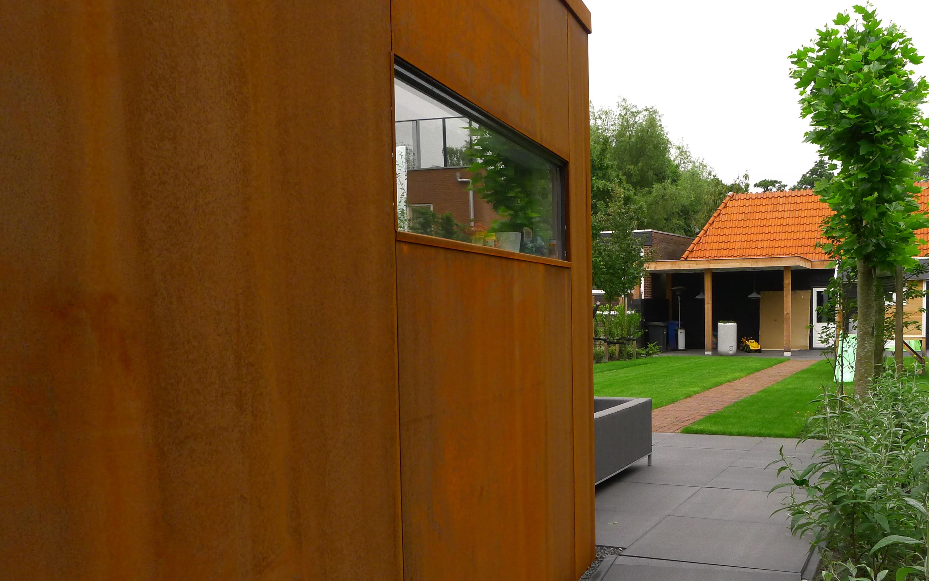 Stalen aanbouw u2013 lot architectuur